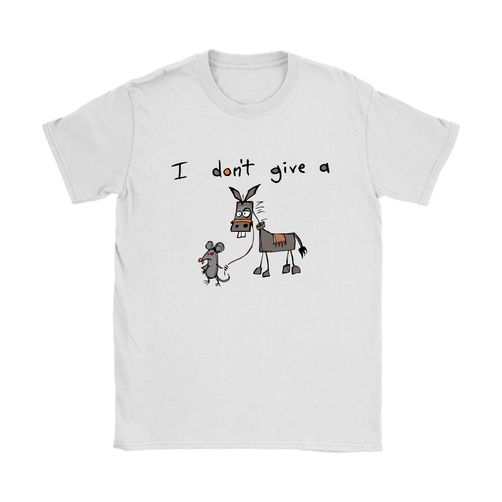 I Don't Give A Mouse Walking A Donkey Shirts 8