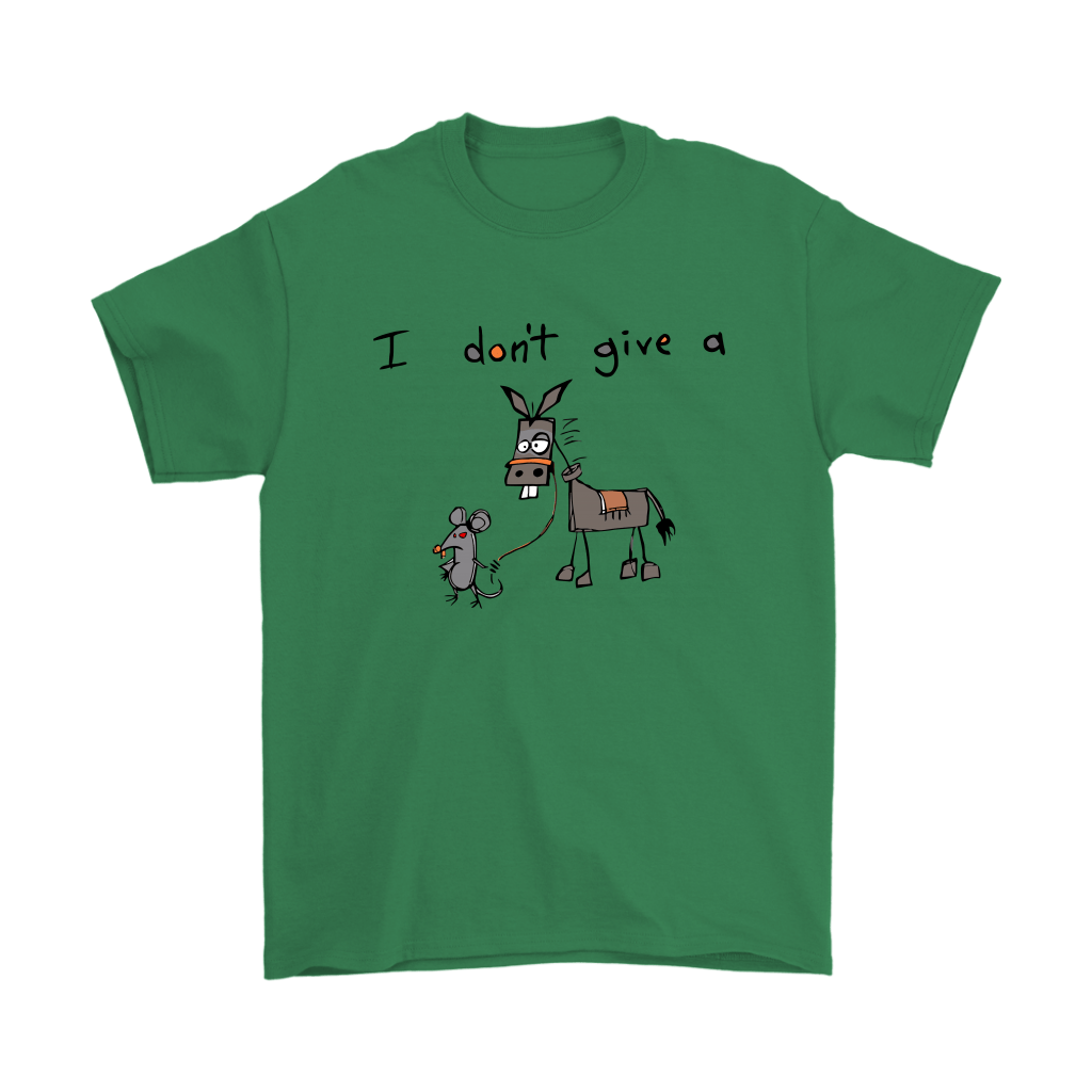 I Don't Give A Mouse Walking A Donkey Shirts 6