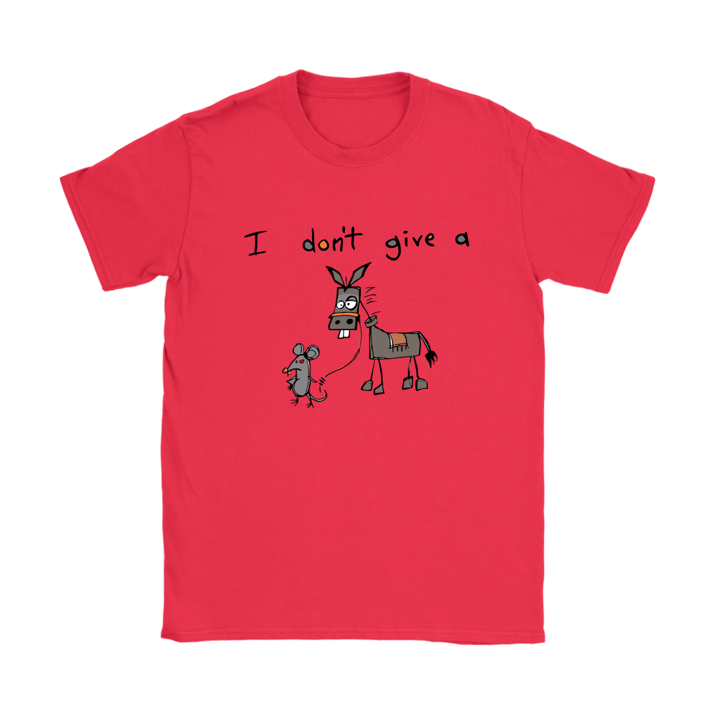 I Don't Give A Mouse Walking A Donkey Shirts 11