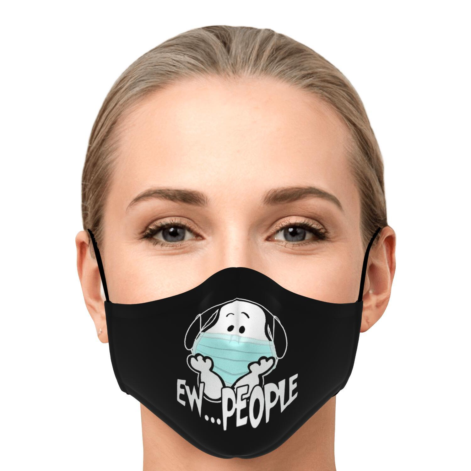 Ew People Snoopy Face Mask 1