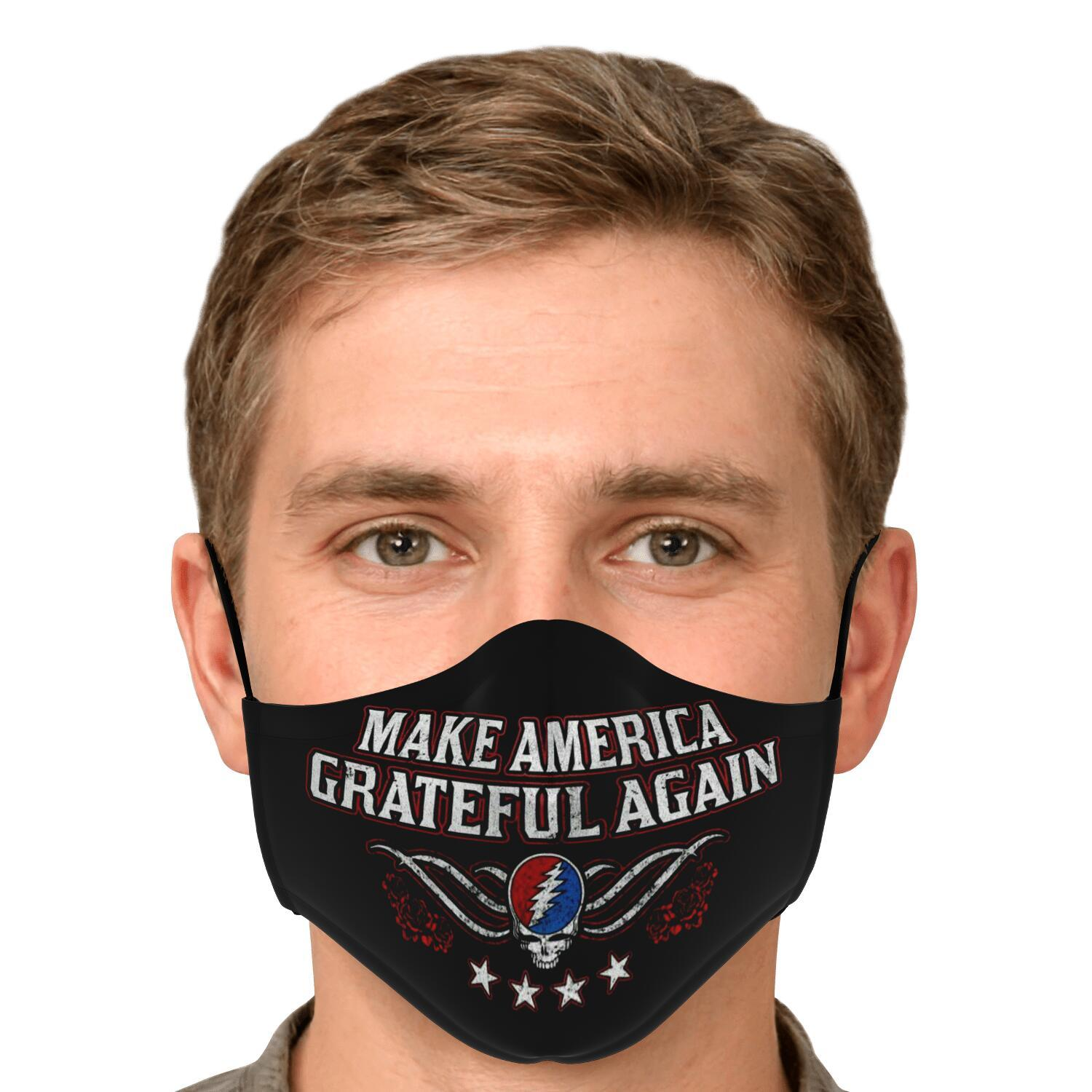 Grateful Dead Make America Grateful Again Face Mask 4