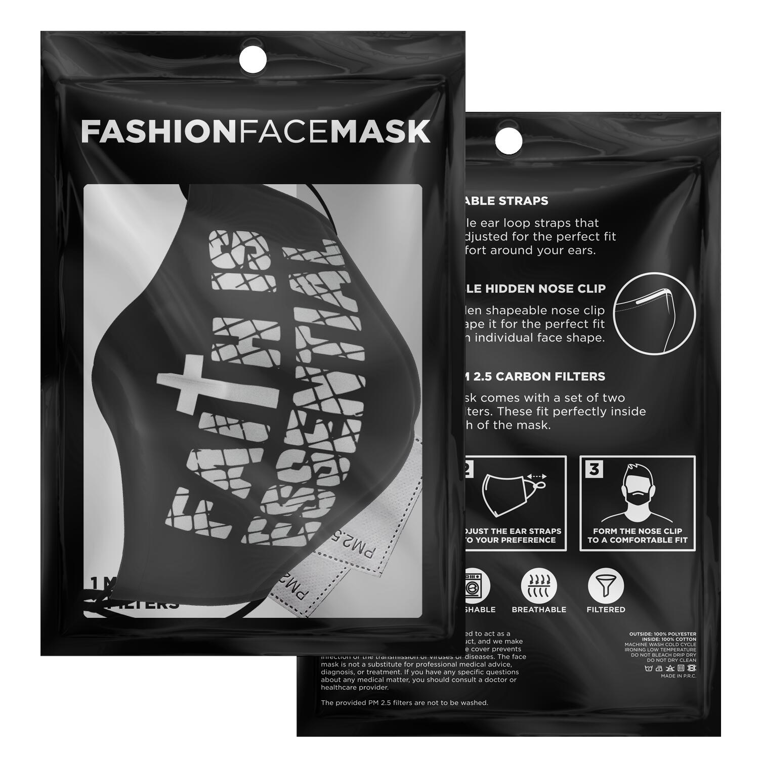 Faith Is Essential Face Mask 2