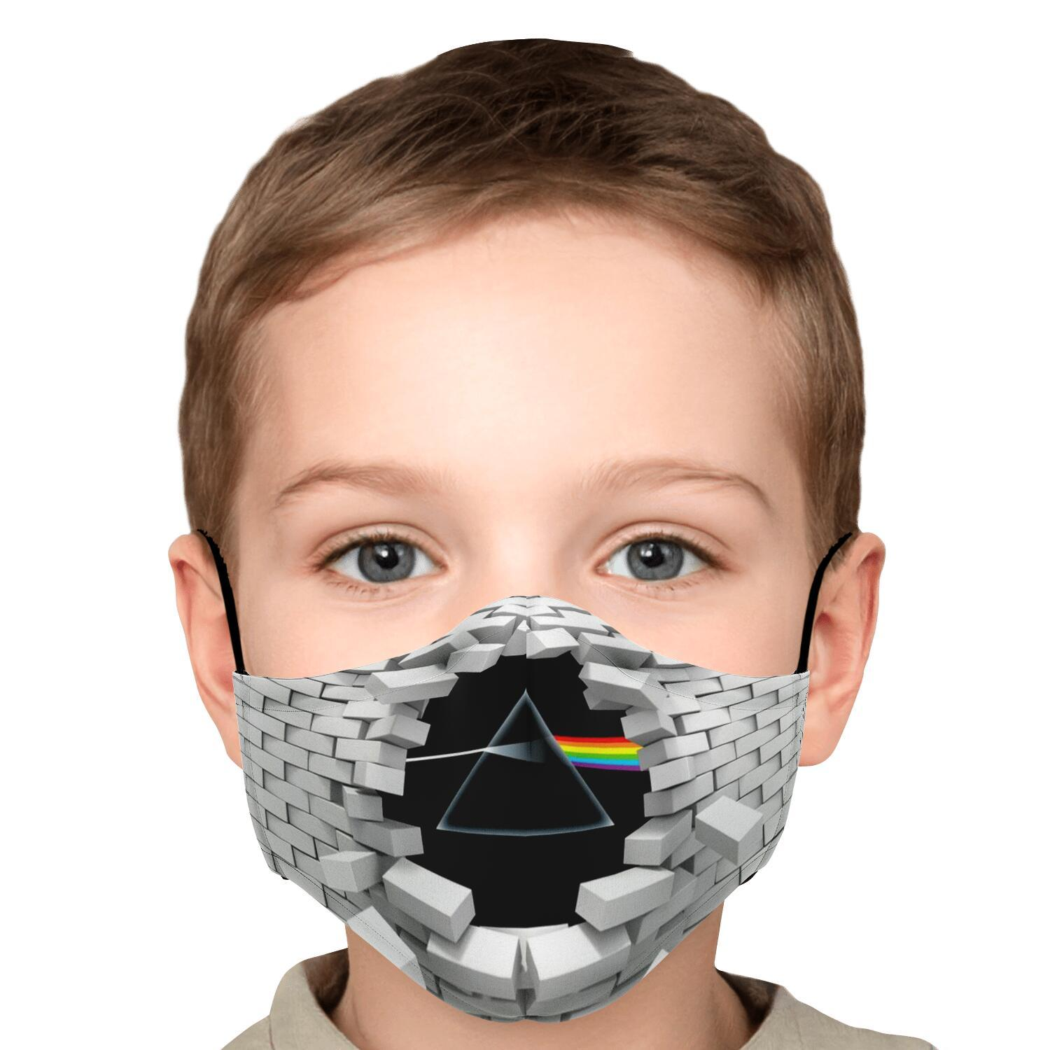 Pink Floyd The Wall Dark Side Of The Moon Face Mask 5