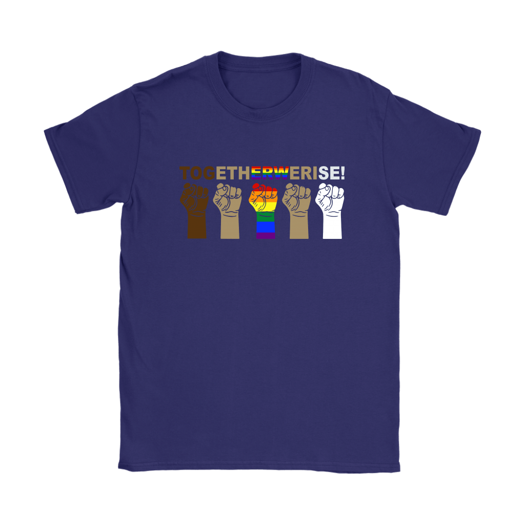 LGBT TOGETHER WE RISE Shirts 8