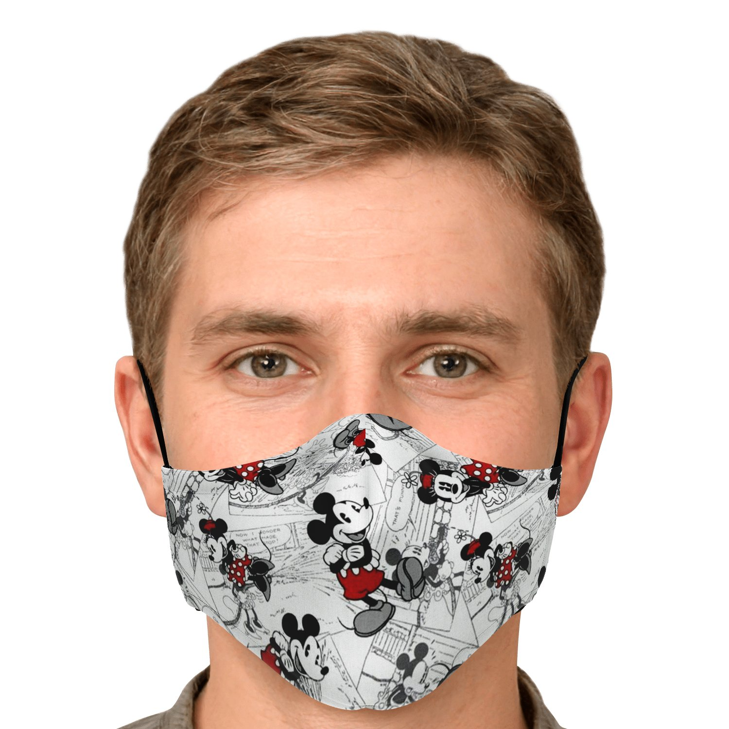Classic Disney Mickey Mouse Face Mask 5