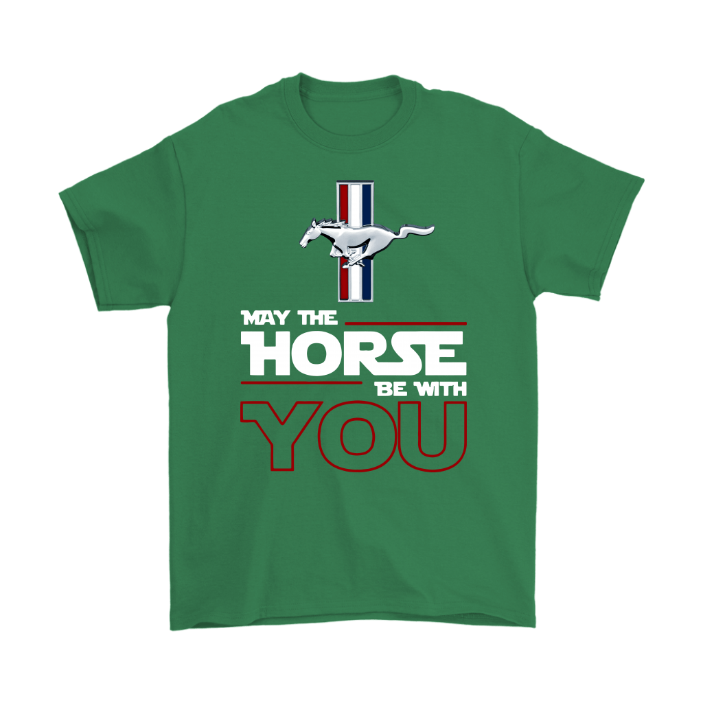 Star Wars May The Horse Be With You Ford Mustang Shirts 6