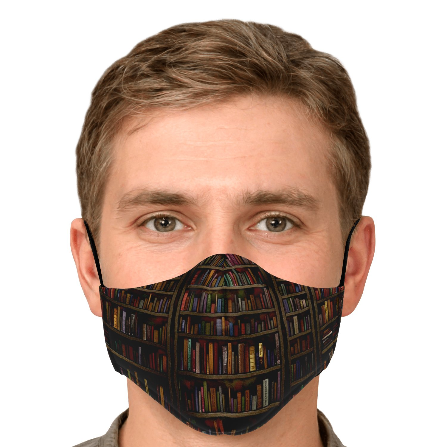 Librarian Old Book Lovers Face Mask 5