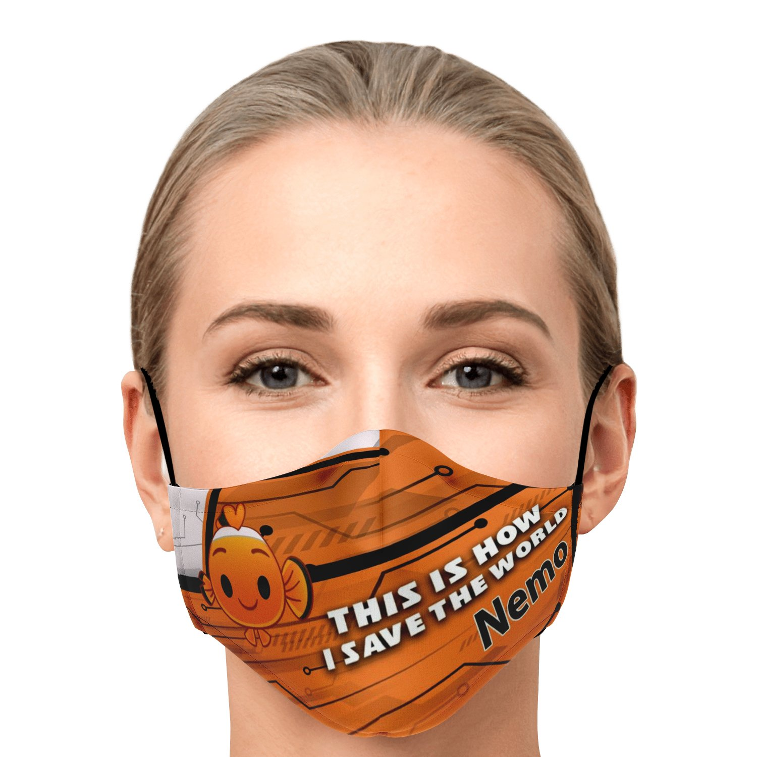 This Is How I Save The World Nemo Disney Face Masks 1