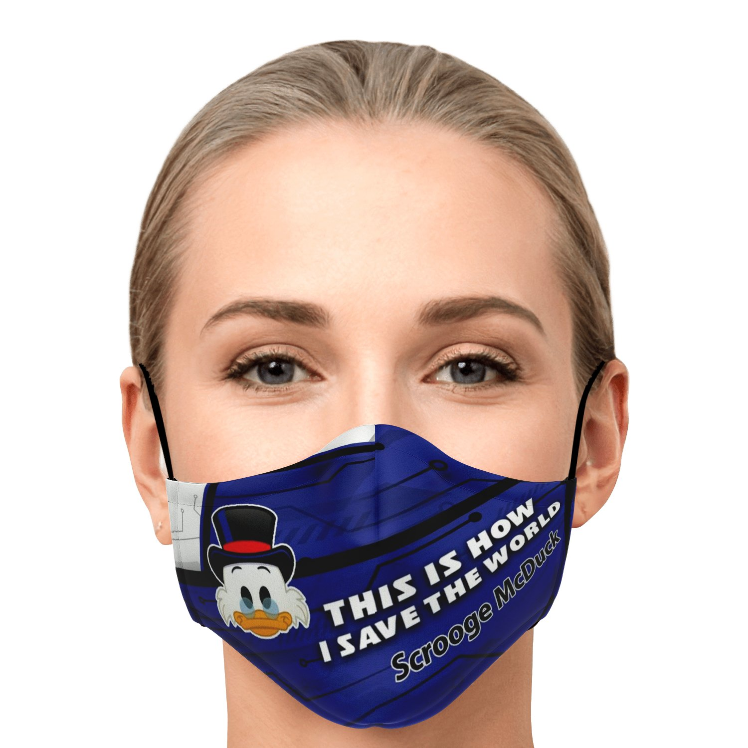 This Is How I Save The World Scrooge McDuck Disney Face Masks 1