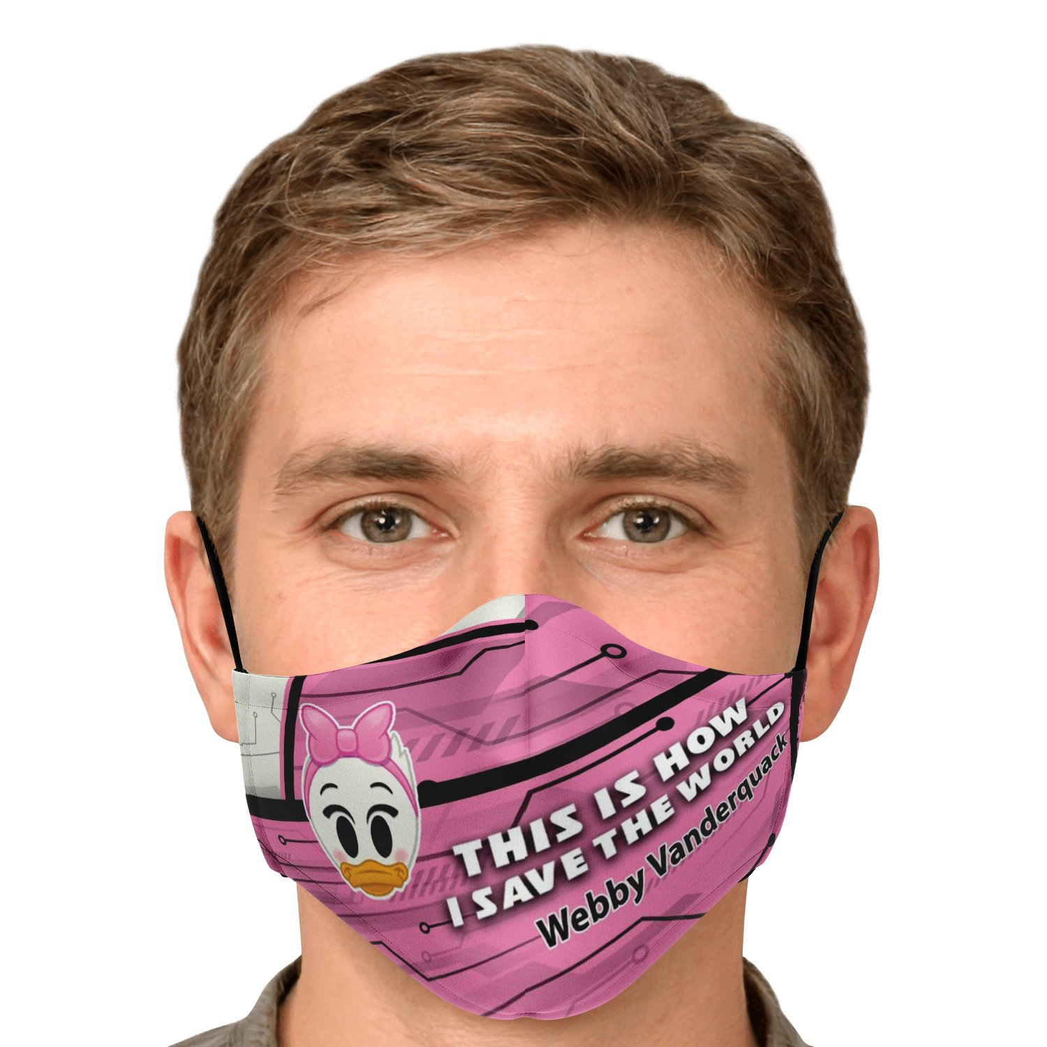 This Is How I Save The World Webby Vanderquack Disney Face Masks 9