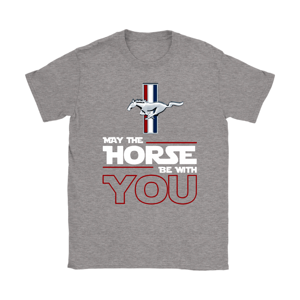Star Wars May The Horse Be With You Ford Mustang Shirts 11