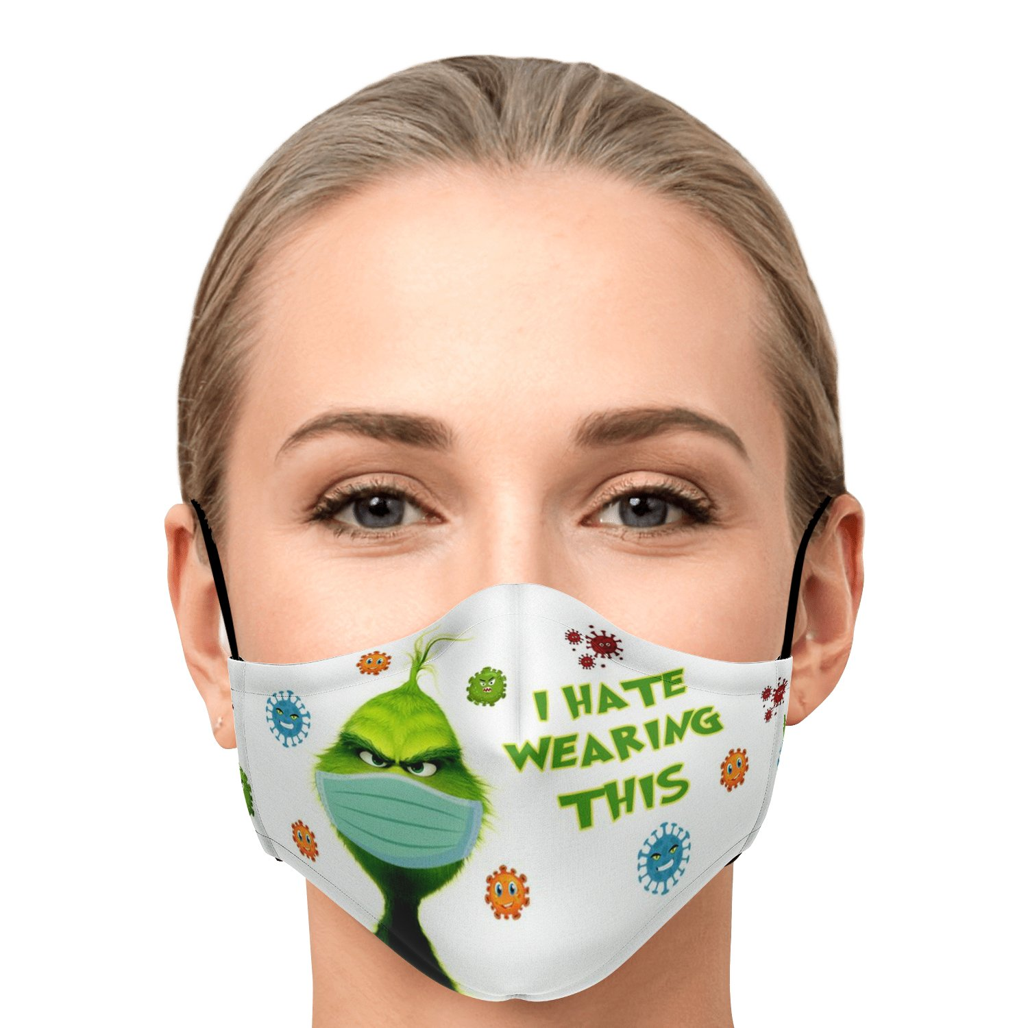 The Grinch I Hate Wearing This Face Mask 1