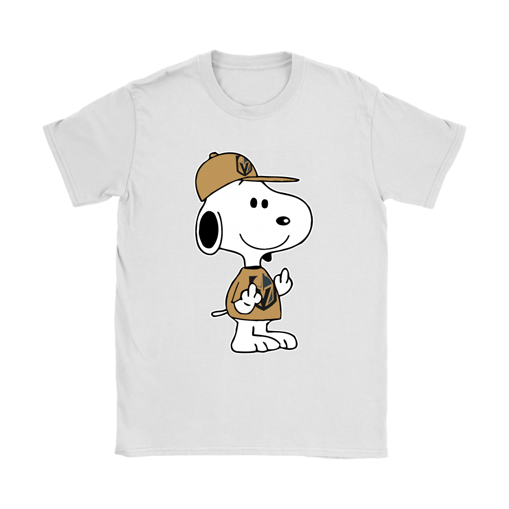 Vegas Golden Knights Snoopy Double Middle Fingers Fck You NHL Shirts 14