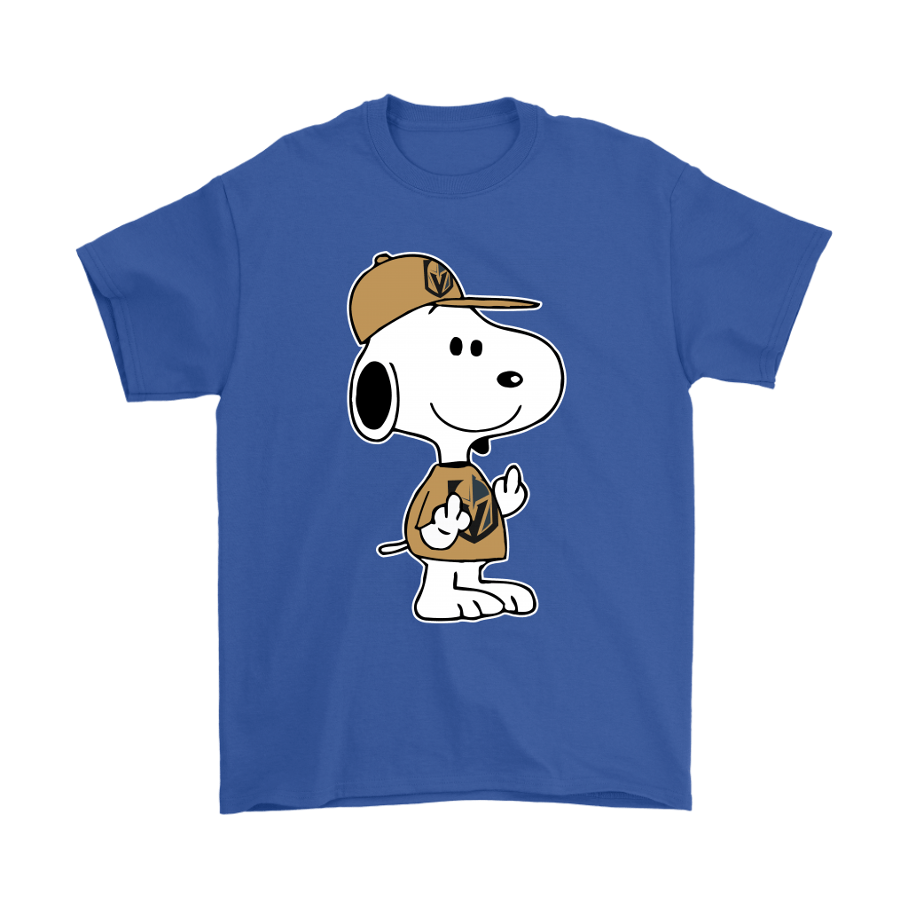 Vegas Golden Knights Snoopy Double Middle Fingers Fck You NHL Shirts 5