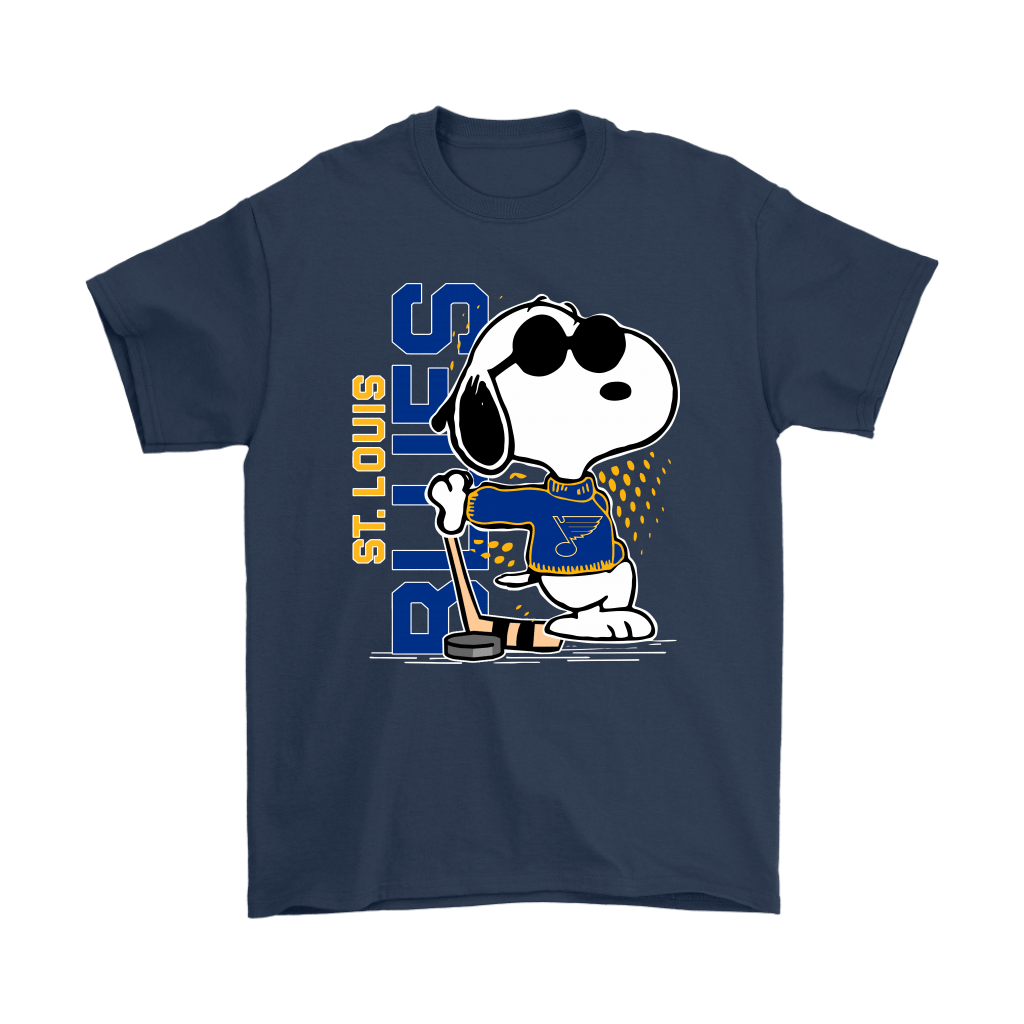 Joe Cool Snoopy St. Louis Blues NHL Shirts 3