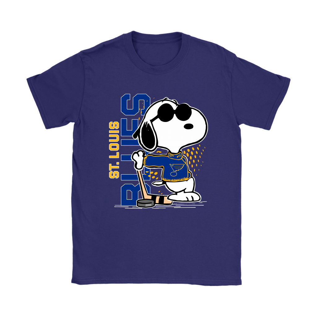 Joe Cool Snoopy St. Louis Blues NHL Shirts 10