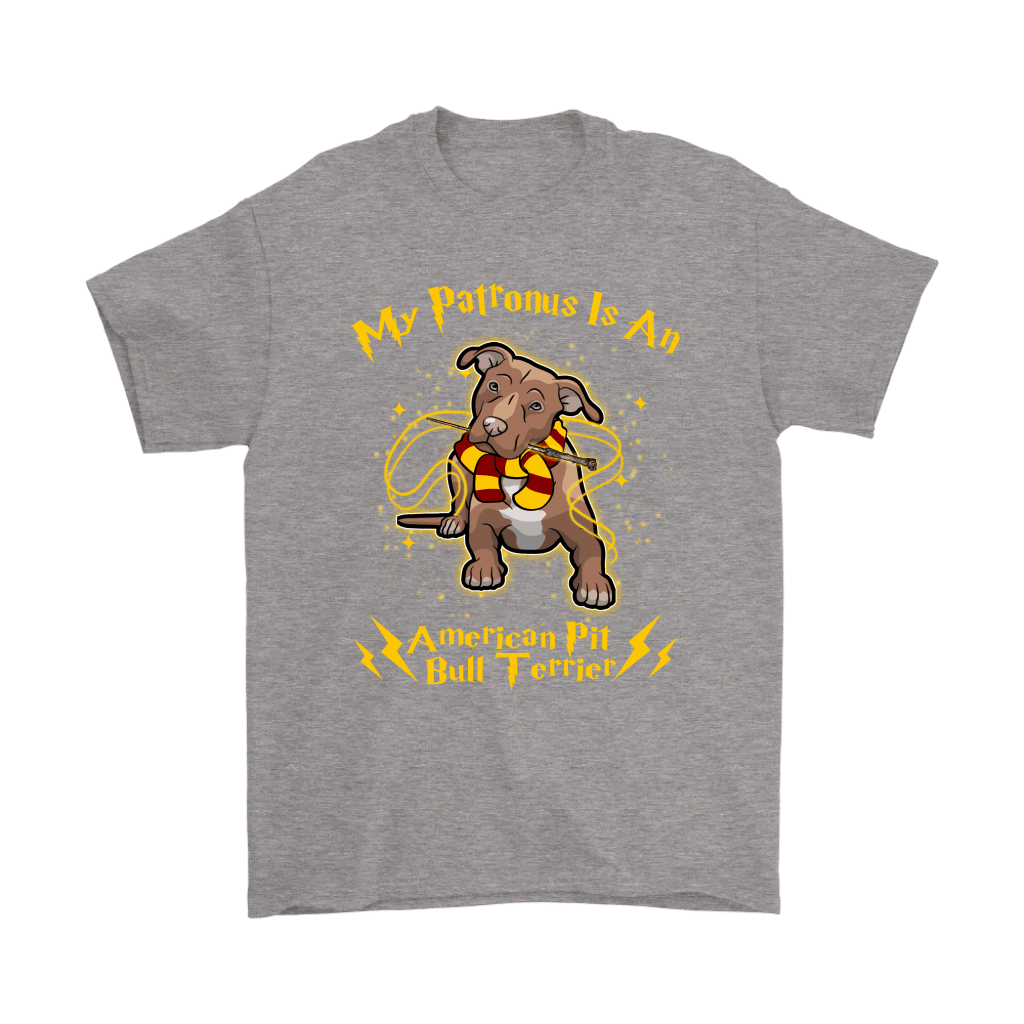 My Patronus Is A American Pit Bull Terrier Harry Potter Dog Shirts 7