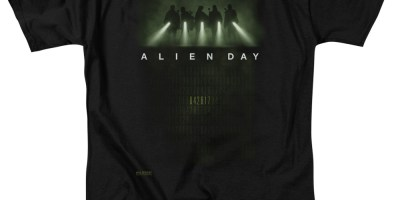 Alien Day T Shirt