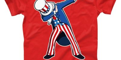 Dabbing Uncle Sam 4th of July Independence Day T-Shirt, Fourth of July, July 4th
