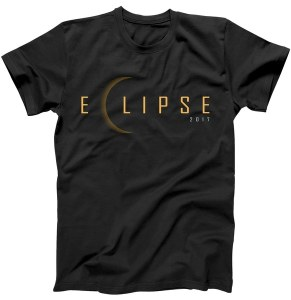 Simple Solar Eclipse 2017 T-Shirt