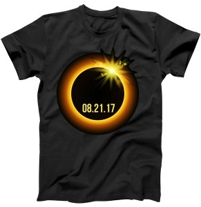 Total Solar Eclipse Date 08-21-17 T-Shirt