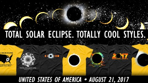 Solar Eclipse T-Shirts
