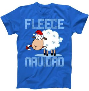 Fleece Navidad Sheep Lamb Ugly Christmas T-Shirt