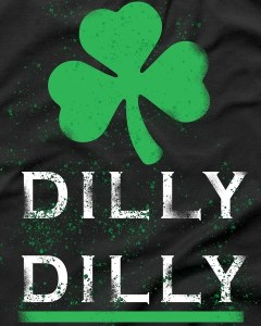 Vintage Dilly Dilly St. Patrick's Day T-Shirt