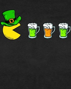 Retro St. Patrick's Day Drinking Game Kids T-Shirt