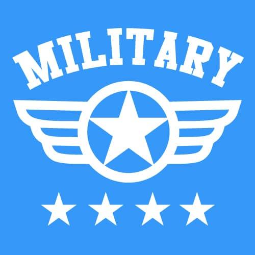 Army, Navy, Air Force, Marines, Coast Guard
