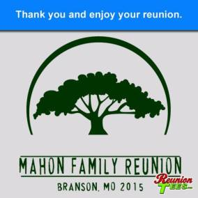 Mahon Family Reunion, Brandson MO