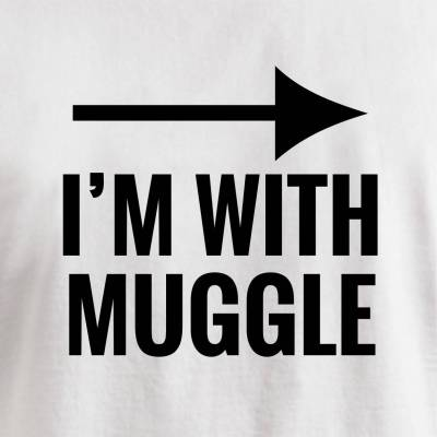 I'M WITH MUGGLE IMG