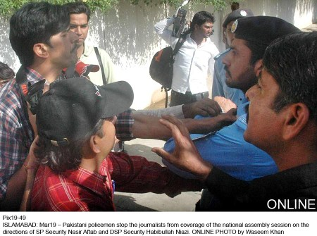 journalists Beaten up