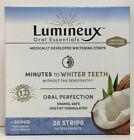 (New) Lumineux Oral Essentials Minutes to Whiter Teeth, 28 Whitening Strips