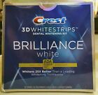 Crest 3D Whitestrips Brilliance White Teeth Whitening Kit 16 ct, Exp. 12/22-NEW
