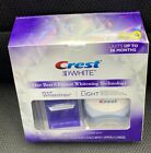 Crest 3D White Whitestrips + Light Teeth Whitening Kit 10 Treatments EXP 02/2021