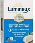 Lumineux Oral Essentials Teeth Whitening Strips 21 Treatments /42 Strips/ Hurry