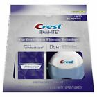 Crest 3d White Whitestrips With Light Teeth Whitening 20 Strips -10 Treatment