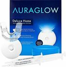 Aura Glow Teeth Whitening Kit LED Light 35% Carbamide Peroxide (2) 5ml Gel