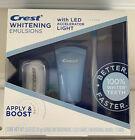 Crest Whitening Emulsions Leave-on Teeth Whitening Kit with LED Light