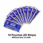 3D Whitestrips Luxe Whitening Professional Effects Strong Grip Removes Stains