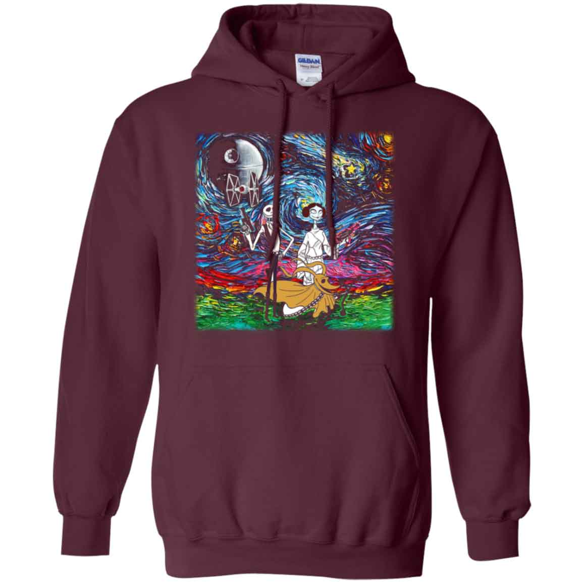 Van Gogh The Nightmare Before Christmas Star Wars Shirts Hoodies ...