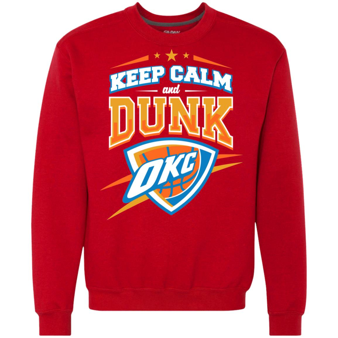 on sale 53fe6 c2913 Oklahoma City Thunder Keep Calm and dunk OKC T shirts Hoodies, Sweatshirts