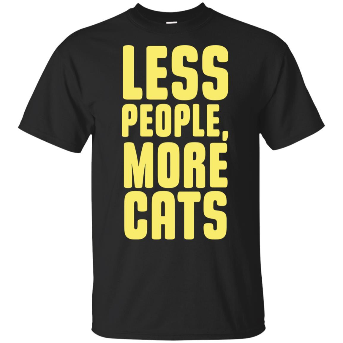 3b109d6cb Cat Less People, More Cats Sweatshirt T shirts Hoodies, Sweatshirts ...