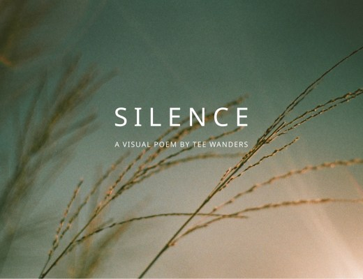 silence - a visual poem