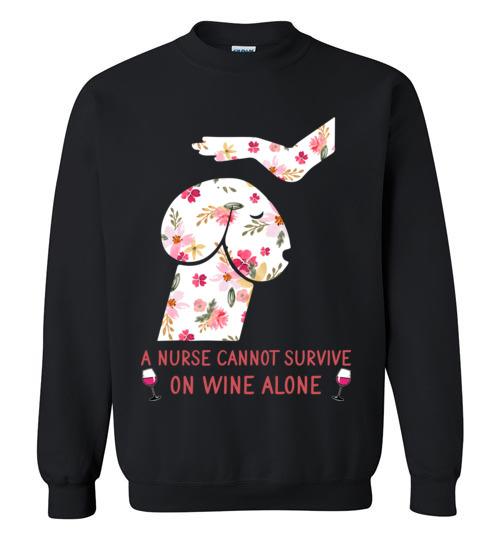 $29.95 – Funny Nurse Wine Shirts: Penis Dog Sweatshirt