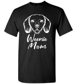 $18.95 – Dachshund Mom Shirts Weiner dog gift T-Shirt