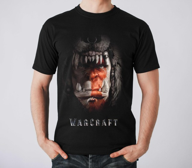 warcraft movie tshirt