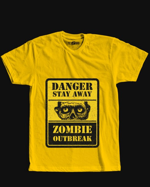 zombie outbreak tshirts