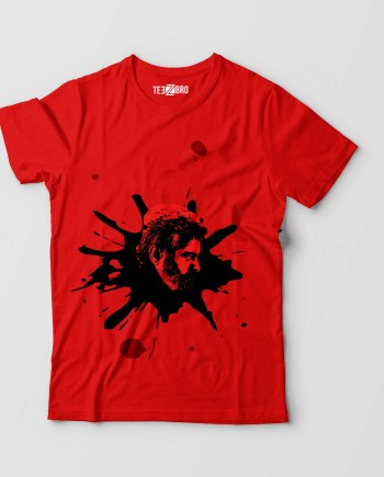 Ajith Viswasam Blood Tshirt